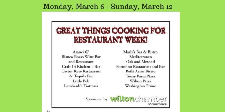 Restaurant Week Participants