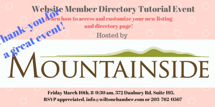 Mountainside Directory Tutorial Recap