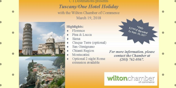Take a trip to Tuscany!