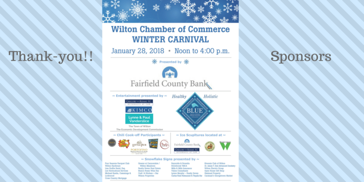 Thank-you Winter Carnival Sponsors